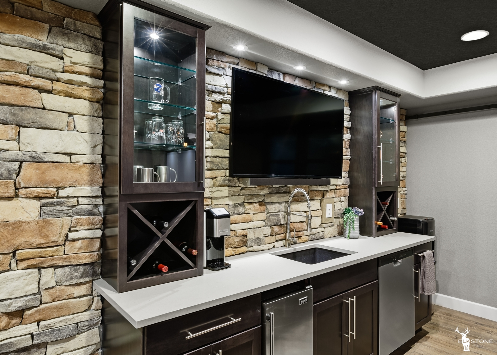 basement of residential home- Prall