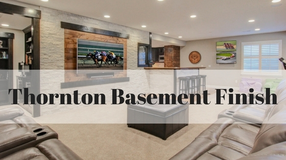 Thornton basement finish elkstone basements for Does a walkout basement cost more