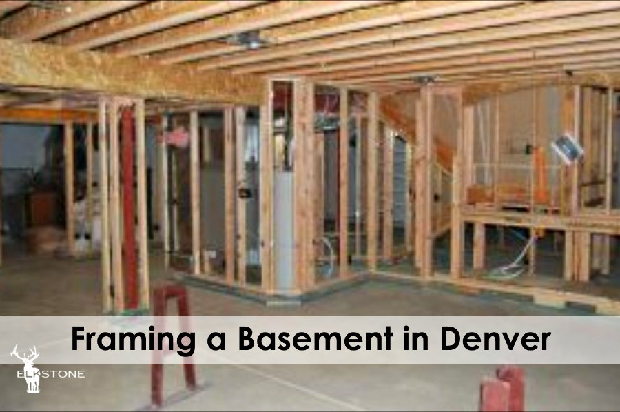 framing a basement in denver elkstone basements