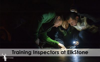 Jefferson County Building Department Training Session in an ElkStone Basement