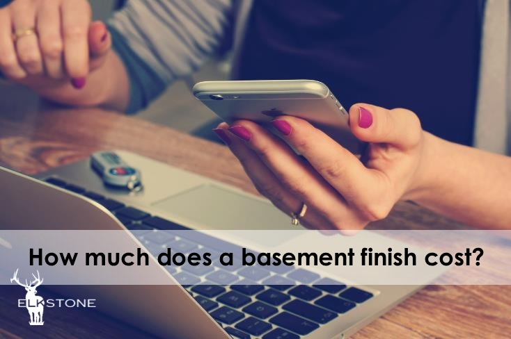 How much does a basement finish cost elkstone basements - Basement bathroom cost calculator ...