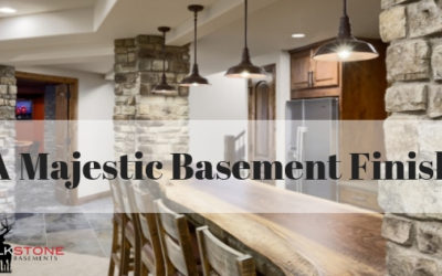 A Majestic Basement Finish