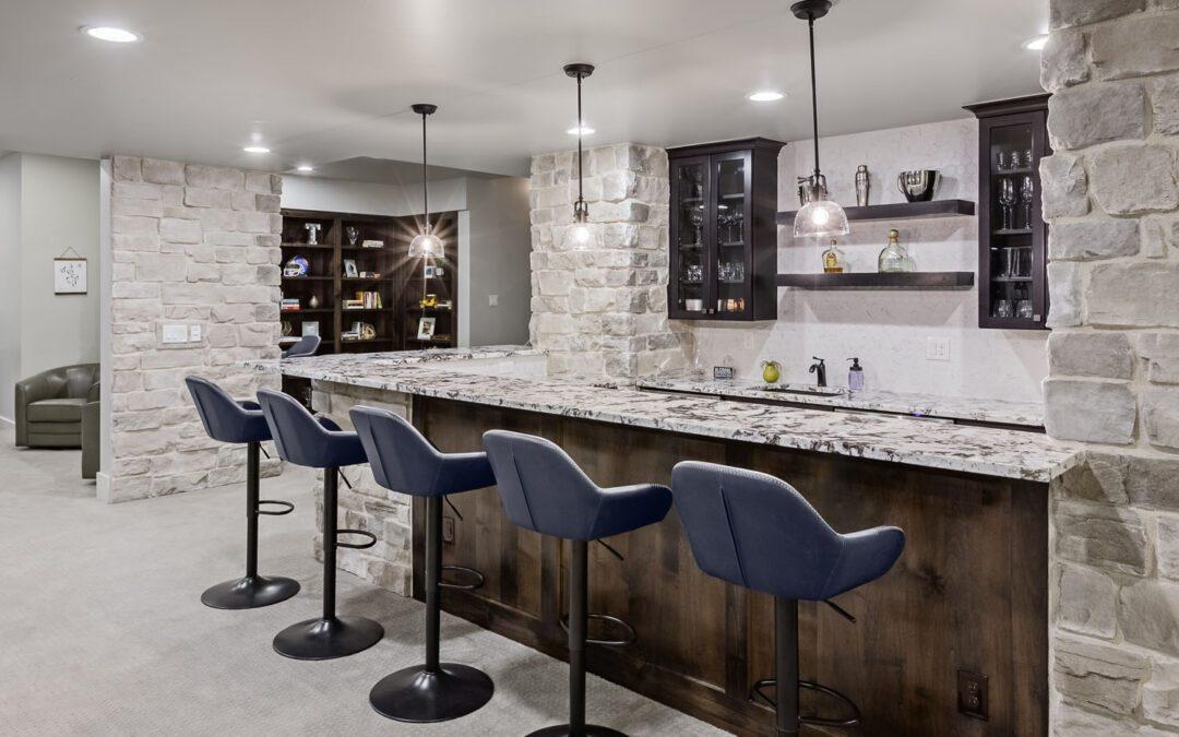 What Makes a Great Basement Wet Bar?