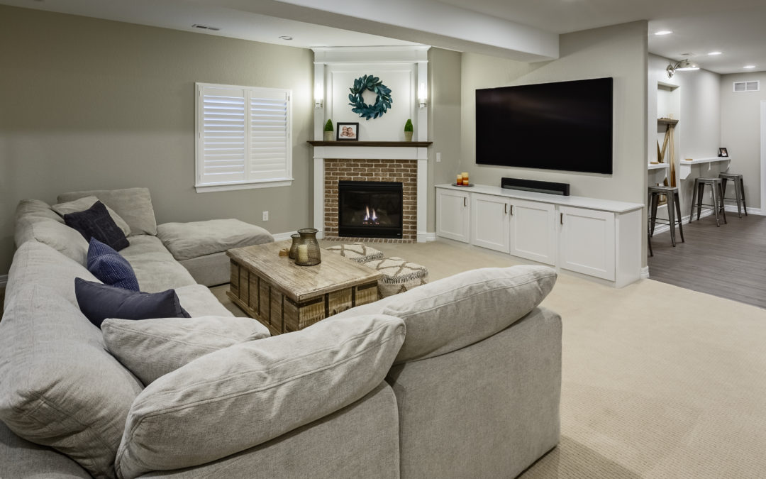 How to Turn Your Finished Basement into a Great Family Room