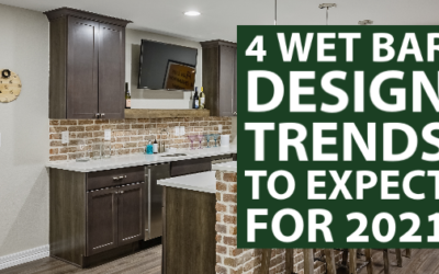 4 Wet Bar Design Trends to Expect for 2021