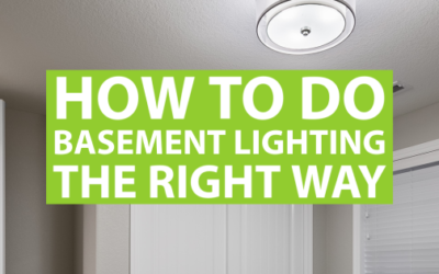 How to Do Basement Lighting the Right Way