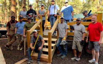 Camp Elim Service Project