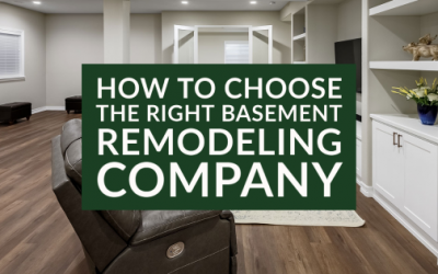 How To Choose The Right Basement Remodeling Company