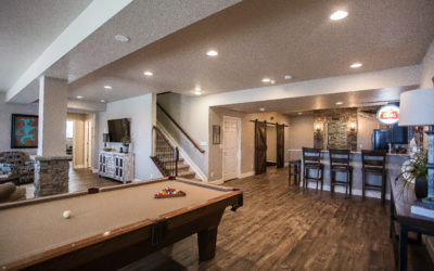 Beautiful Basement Renovation: Ceiling Design
