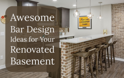 Awesome Bar Design Ideas for Your Renovated Basement