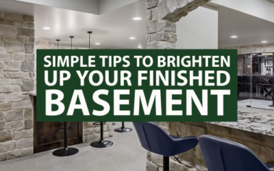 Simple Tips to Brighten Up Your Finished Basement