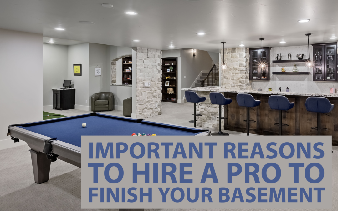 Hire A Pro To Finish Your Basement, Finished Basement Company