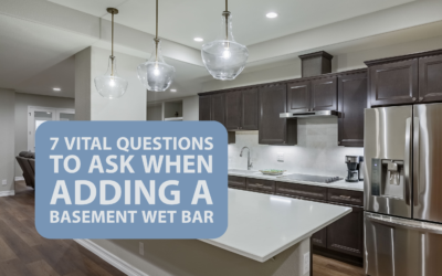 7 Vital Questions to Ask When Adding a Basement Wet Bar